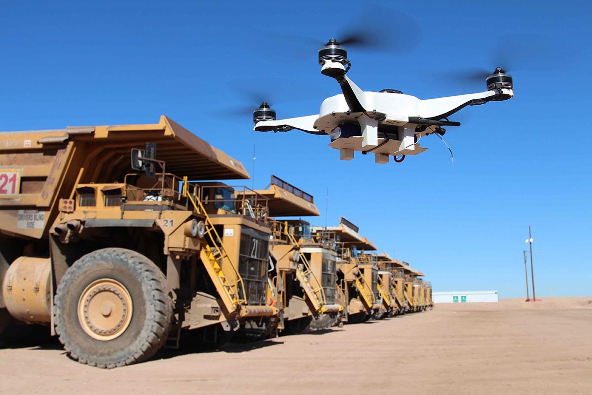 Využití bezpilotních letounů ve stavebnictví