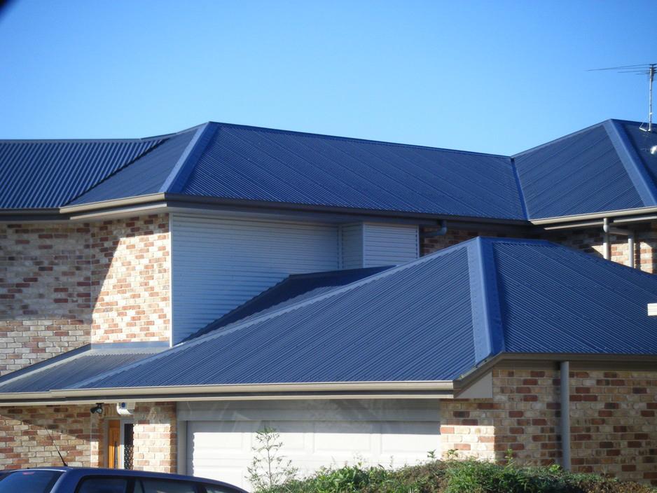 Modrá střecha střídá ekologickou zelenou
