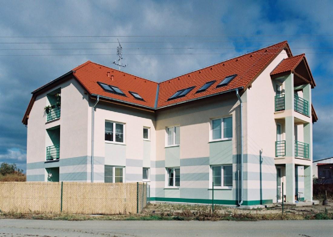 Novostavba bytových domov Vrádište – 16 bytových jednotiek