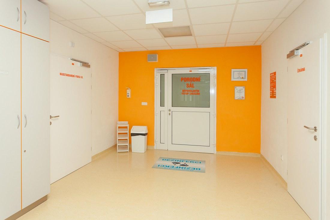 Rekonstrukce gynekologicko-porodního oddělení Karviná