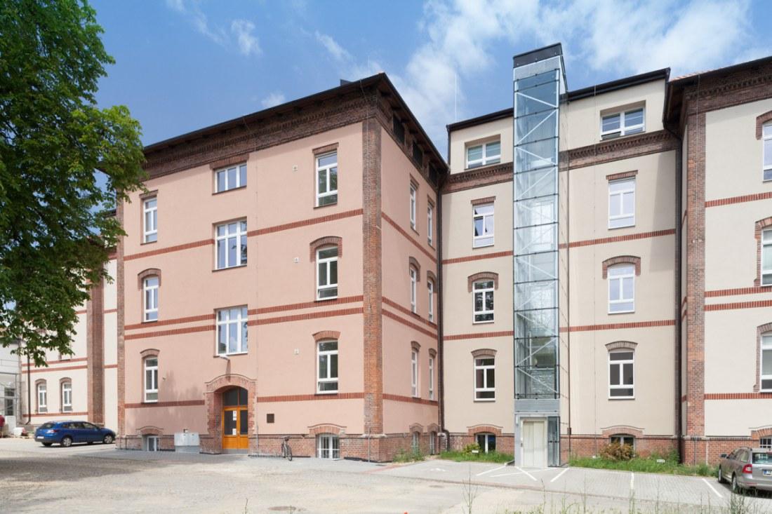 Reconstruction of Building No 8, the University of Defence, Šumavská street, Brno