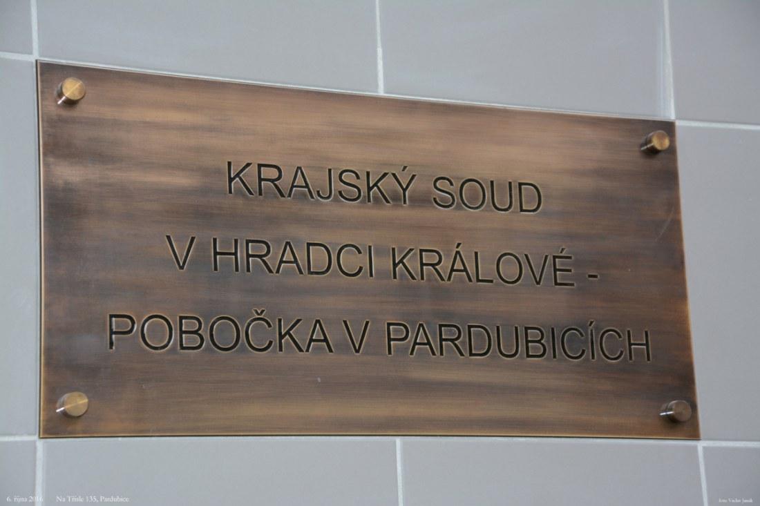 Krajský soud v Hradci Králové – pobočka v Pardubicích