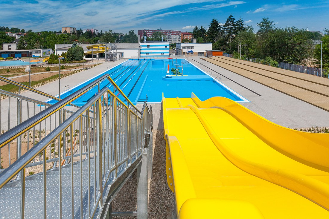 Rekonstrukce bazénu v Zábřehu