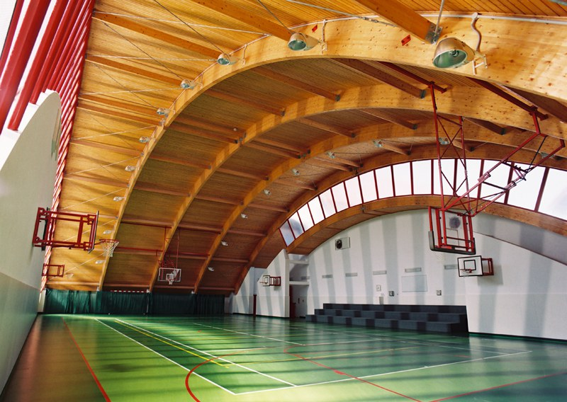 Extension of a high school and sports hall for High Schools in Kromeriz