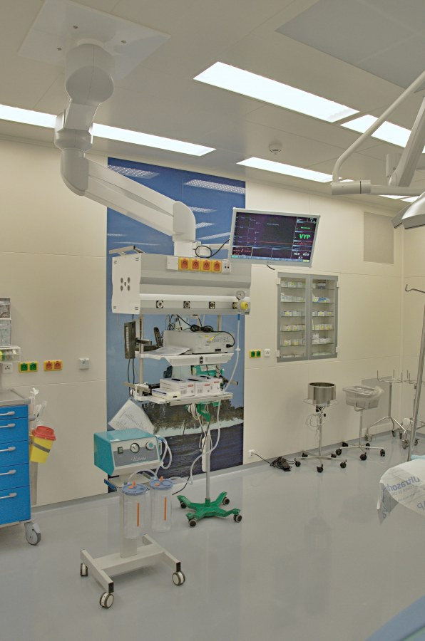 Reconstruction of IKEM operating halls