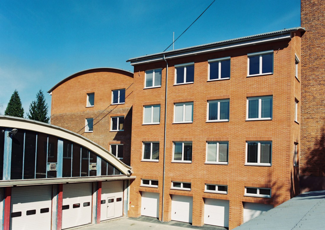 Přístavba a nastavba objektu pro KŘ Hasičského záchranného sboru ve Zlíně
