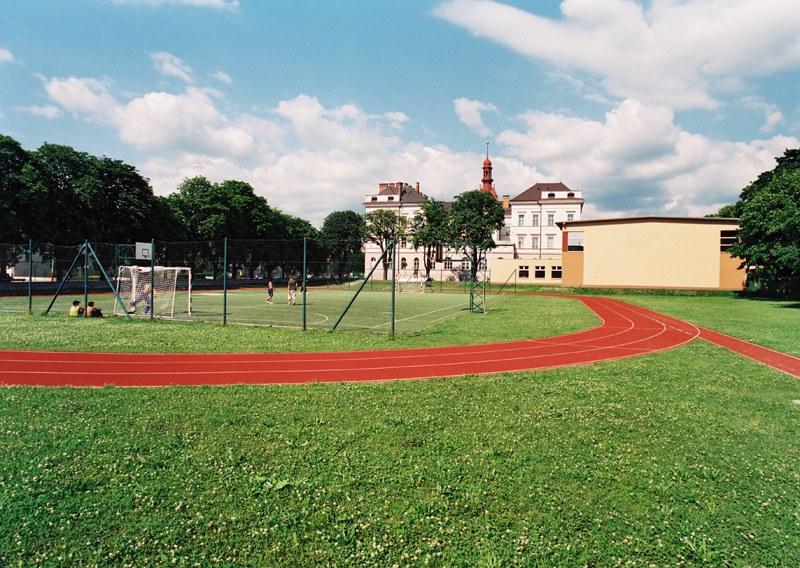 Přístavba tělocvičny, sportovišť a výdejny stravy Gymnázia L. Jaroše v Holešově
