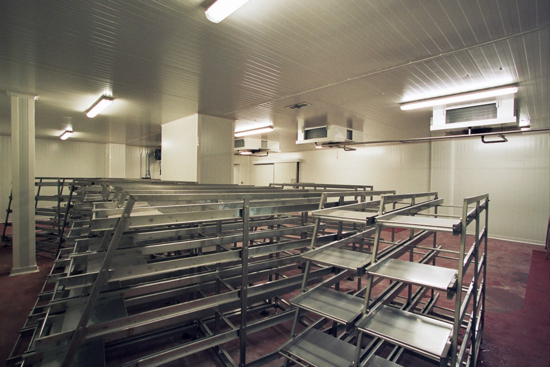 Reconstruction and repair of a salami production plant for Masna Kromeriz – odbyt a.s.