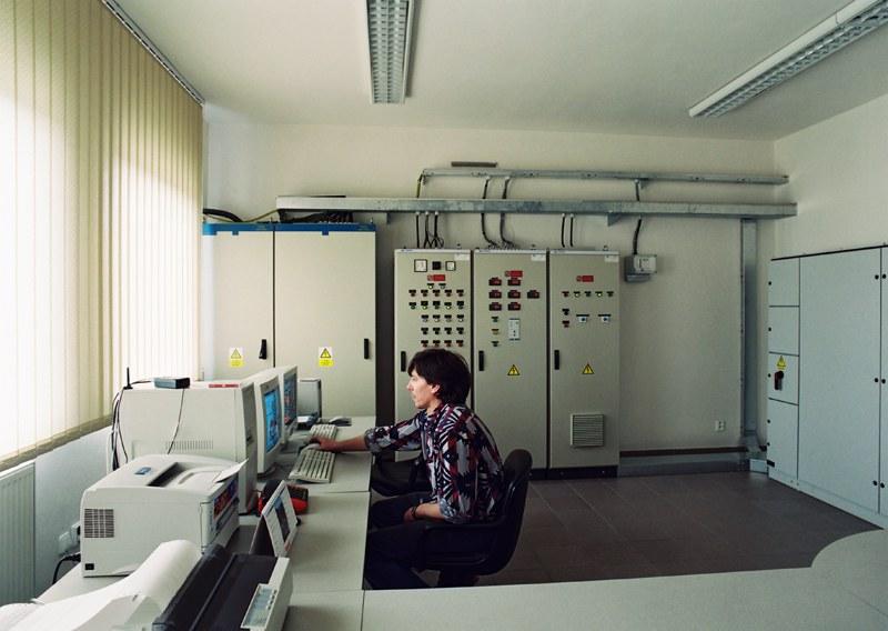 Central biomas boiler plant