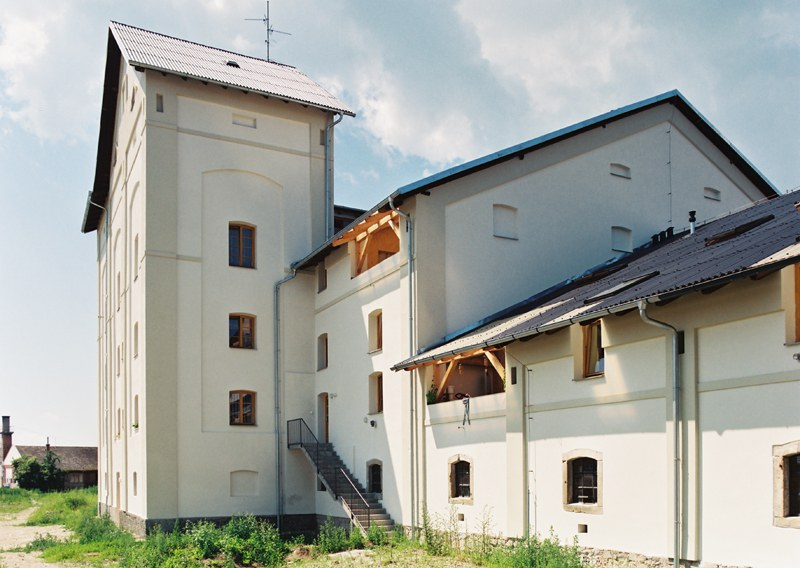Reconstruction of a malt house in Kojetín into apartments for the City of Kojetín