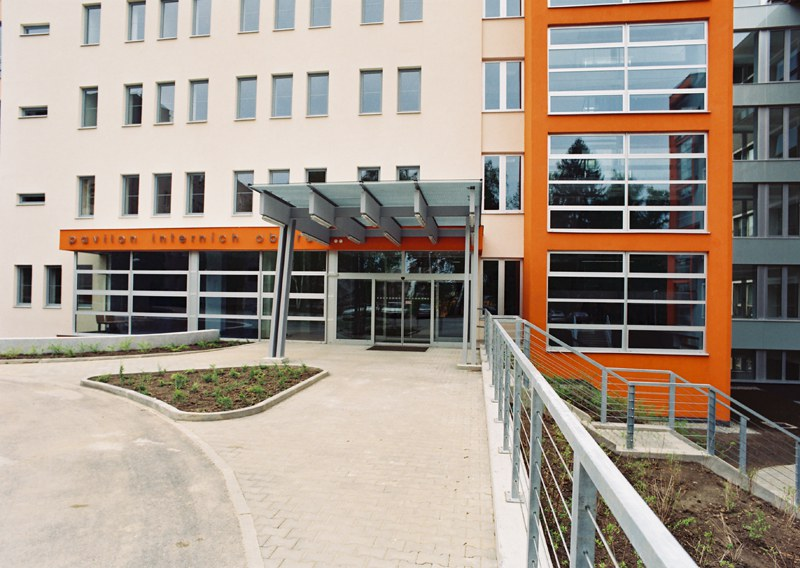 Building modifications and extention of the hospital with polyclinic in Nový Jicín, – II. Stage