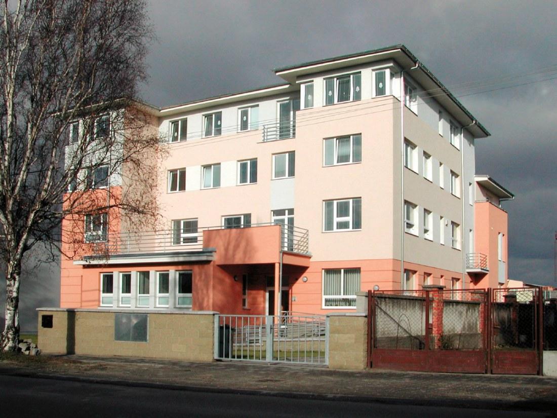 Stavební úpravy a nástavba Dětského domova v Uherském Ostrohu