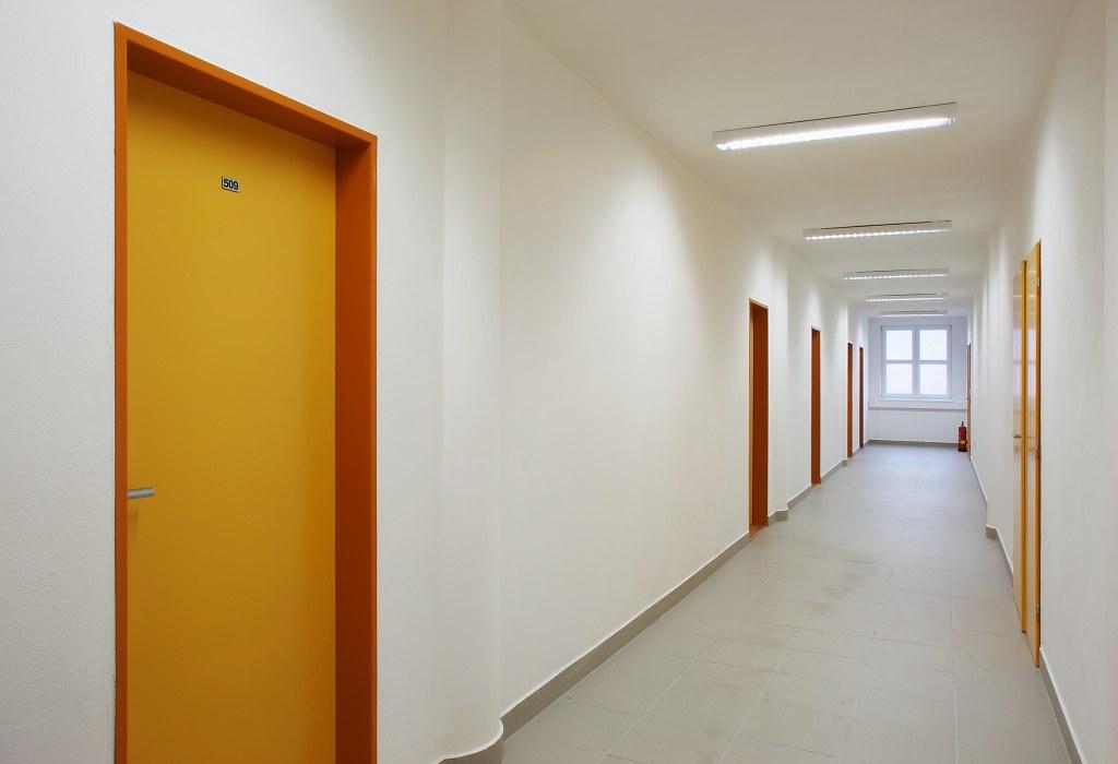 Stavební úpravy a nástavba domu č.p. 2080, ul. Dukelská, Benešov
