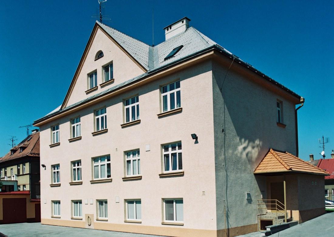 Stavební úpravy objektu pro Okresní hygienickou stanici Kroměříž