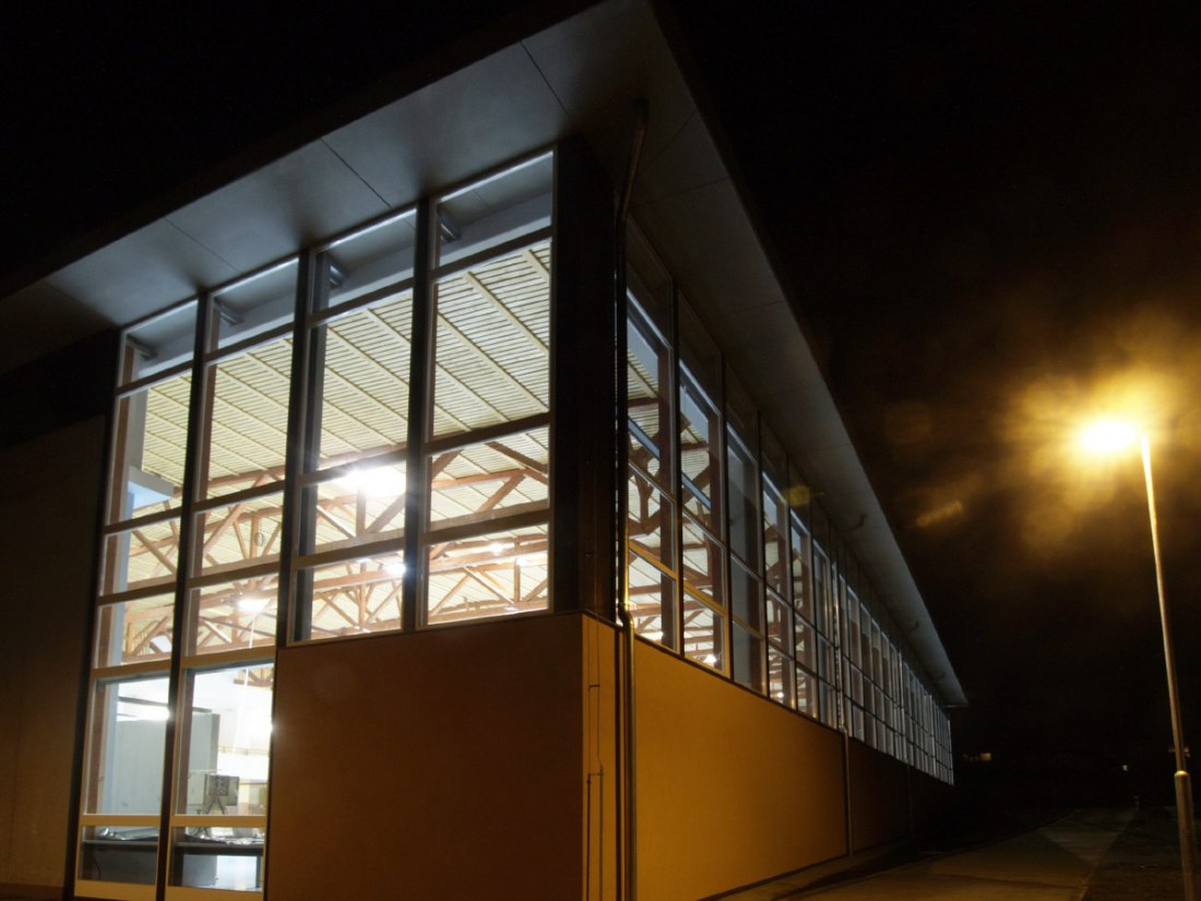 Constructional arrangement of gym in elementary school Komenskeho 298, Napajedla