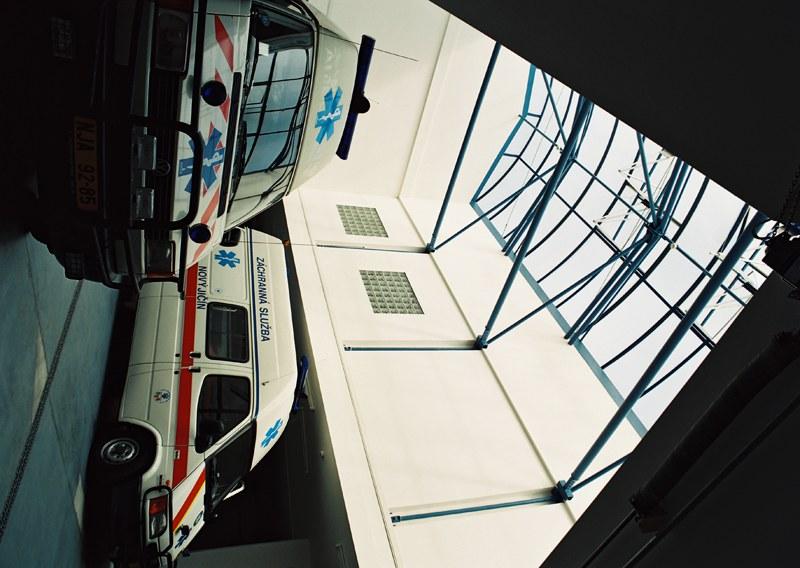 Úprava a nadstavba objektu garáží záchranné služby v Novém Jičíně