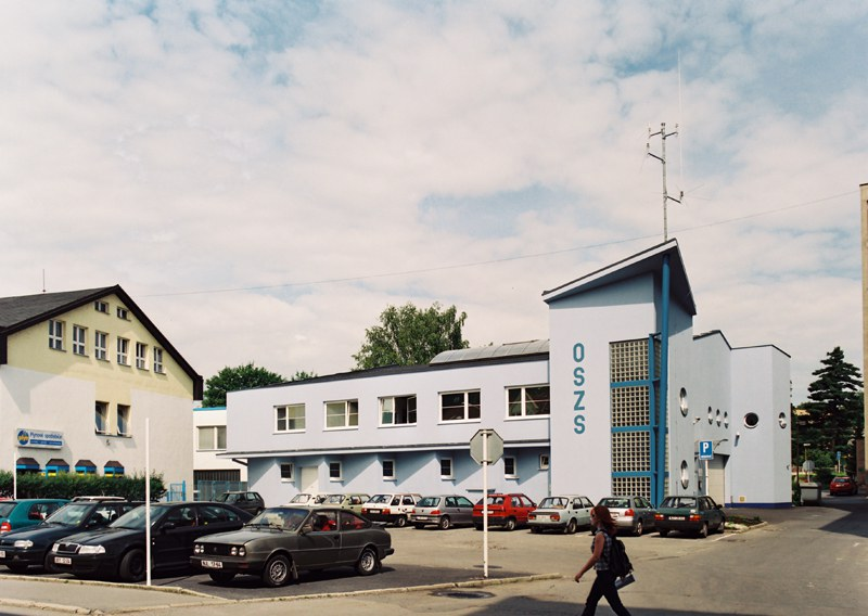 Modification and extension of garages of the rescue services in Nový Jicín