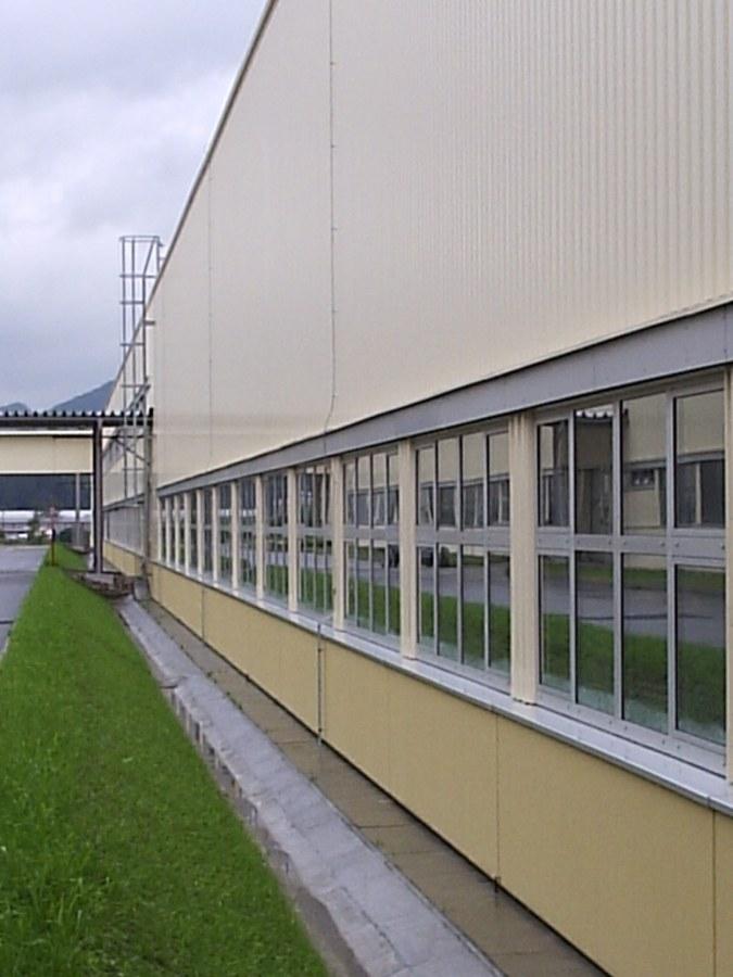 Výrobní závod IWK – 3. stavba, Kysucké Nové Město pro firmu INA Kysuce a.s.
