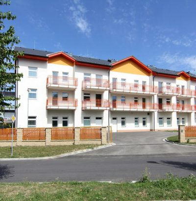 "Centre for Seniors ""Zahrada"" (""Garden"") – new building for the Town of Bystřice pod Hostýnem"