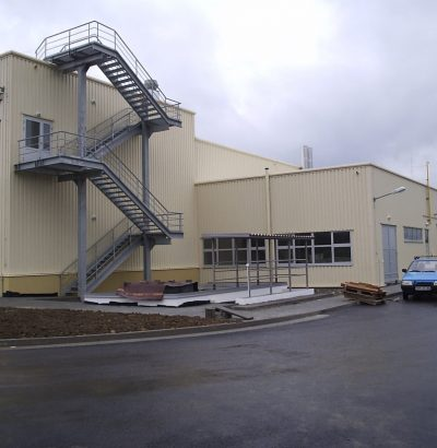 Production plant IWK – 3rd structure in Kysucke Nove Mesto for company INA Kysuce Inc.