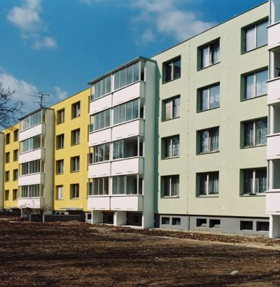 Renovation of residential buildings in Brno-Kohoutovice