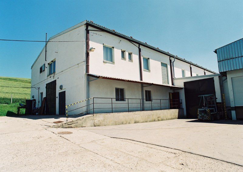 New poultry processing building in Strabenice