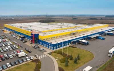 Šestajovice – a new wing of the distributional center