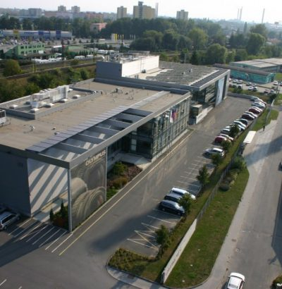 New OWI technological centre building in Přerov for Olympus Medical Products Czech s.r.o.