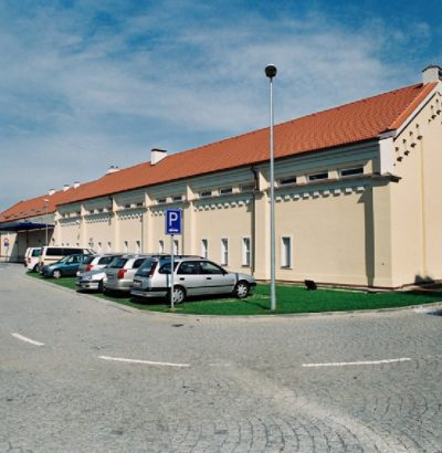 New warehouse building in the Vokovice Business-Administration complex – Evropská,