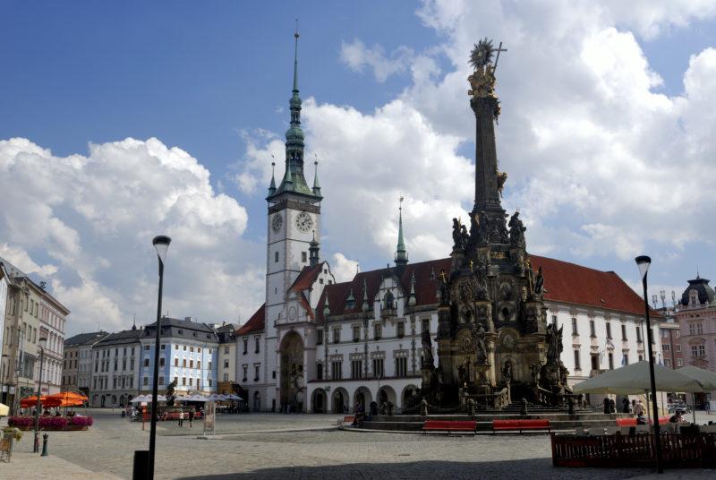 Olomouc: město rozmanitých architektonických slohů