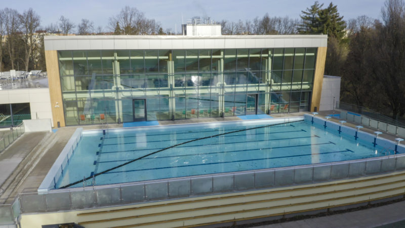 Reconstruction of the municipal swimming pool in the town of Rakovník