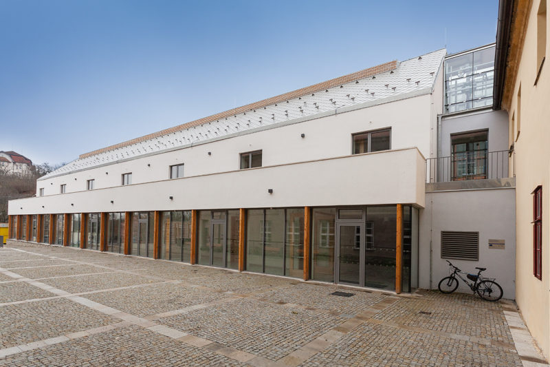 Přístavba a rekonstrukce Katolického gymnázia Třebíč