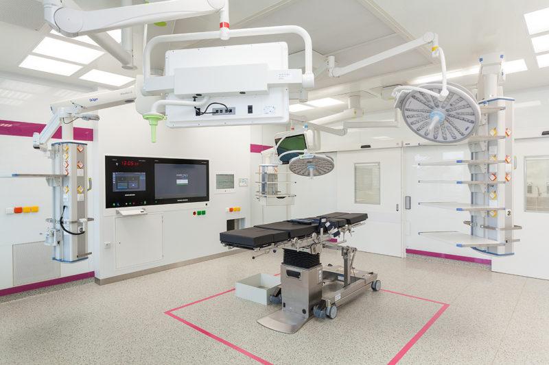Rekonstrukce operačních sálů Nemocnice Prostějov